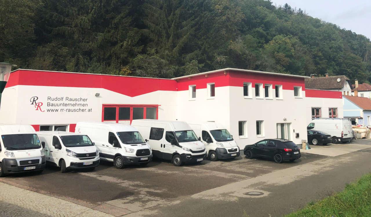 Rauscher Bau GmbH - Firmengelände